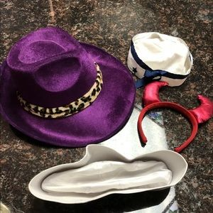 4- hat costume accessories